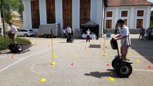 Segway Parcours für Veranstaltungen mit vielen Variationen zum Segway testen und Kennenlernen