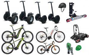 Fuhrpark_E-Bikes_SEGWAY_HEckträger_Veleih_Vermietung_CROSSTOURS