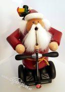 SEGWAY Weihnachtsmann Räuchermännchen Modell SEGWAY PT Geschenk 01