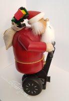 SEGWAY Weihnachtsmann Räuchermännchen Modell Geschenk 02