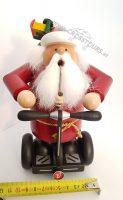 SEGWAY Weihnachtsmann Räuchermännchen Modell SEGWAY PT Geschenk 05
