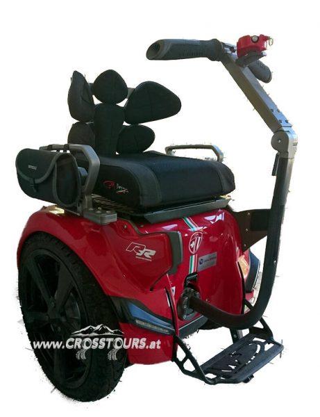 Sitz Segway Rollstuhl Genny Urban 20L Vollausgestattet Rot Crosstours