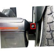 Schrauben Set Segway Fascia bumper 4 Stueck