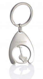 SEGWAY Schlüsselanhänger mit Einkaufs-Chip